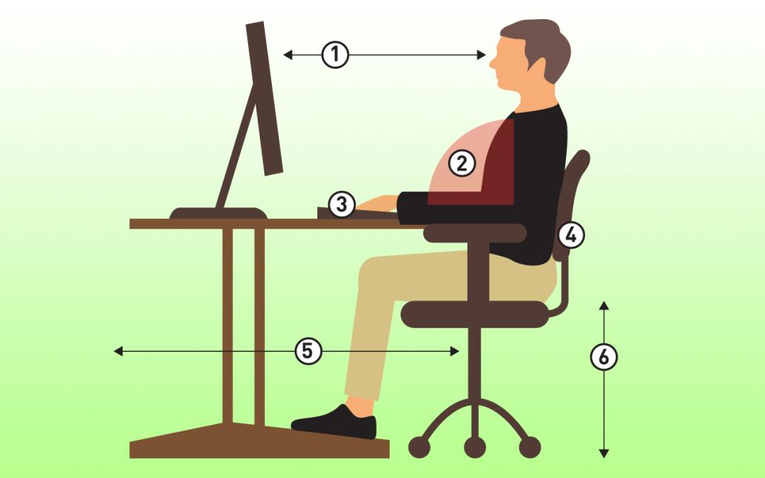 Comment s'asseoir devant son ordinateur?