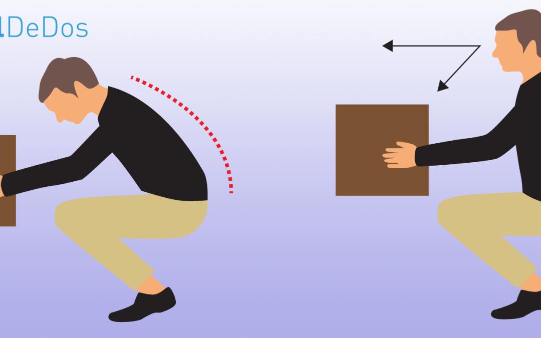 Comment soulever des objets pour prévenir le mal de dos ?
